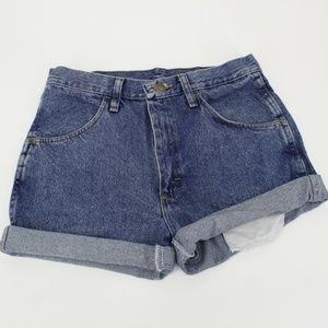 Vintage Rustler High Waist Mom Jean Shorts